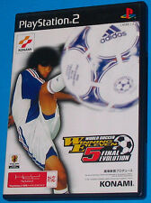 Winning Eleven 5 Final Evolution - Sony Playstation 2 PS2 Japan - JAP