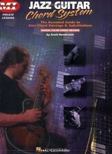 Jazz Guitar Chord System (Acoustic Guitar Magazine's Private Lessons), , Good Bo