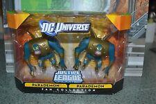 """DC UNIVERSE Justice league Parademon 2 pack  figure 4"""" fan collection"""