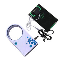 Portable USB Solar Panel No Blades Fan Cooling 2W 5V for Travel Camping Outdoor