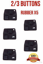 Toyota 2/3 button key rubber  x5. Amazing value..