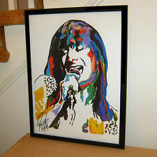 Steve Perry, Journey, Lead Vocalist, Singer, Rock, Pop Rock, 18x24 POSTER w/COA