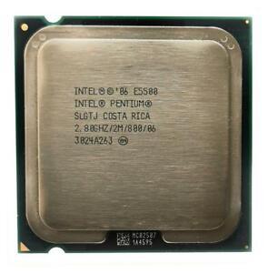 CPU Intel 775 Pentium Dual Core 2 x 2,8 GHz E5500 Tray / SLGTJ /  2MB / 800 MHz