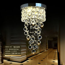 NEW Modern K9 Clear Crystal Ceiling Light Pendant Lamp Chandelier Lighting #8570