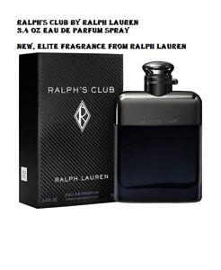 Ralph's Club by Ralph Lauren 3.4 oz Eau de Parfum Cologne Spray NEW, SEALED
