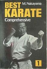 MASATOSHI NAKAYAMA KARATE, 1983 BOOK (BEST KARATE COMPREHENSIVE