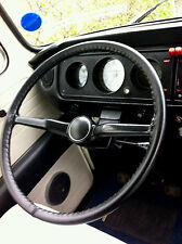 Classica VOLANTE IN PELLE COPERTURA/Guanto/Avvolgere ~ VW Camper T2 T3 T25 T4 T5