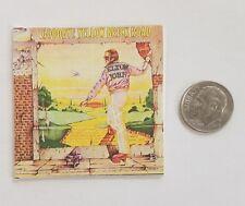 Miniature record albums Barbie Gi Joe 1/6  Figure  Playscale Elton John Yellow