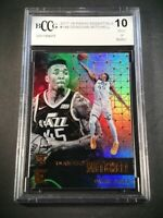 DONOVAN MITCHELL 2017 PANINI ESSENTIALS #149 ROOKIE RC BGS BCCG GRADED 10