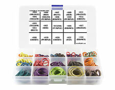 Deluxe Universal color coded o-ring kit W/ 300+ orings by Flasc Paintball