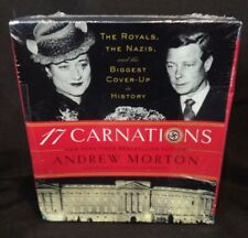 17 Carnations: The Royals, the Nazis, Coverups in History Audio NEW SEALED