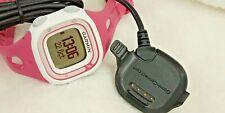 Women's Garmin Forerunner 10 GPS HRM Sport Watch - Green w/charger G10-2