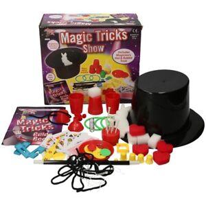 Children Magic Set Toy Tricks Kid Magician Illusions Trick Kit Accessories Hat