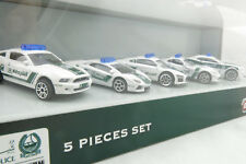 Majorette Dubai Police 5x Sports Car Gift Set