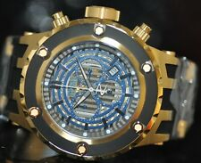 Invicta Men's Rare Subaqua Reserve Chrono SeeThru Dial Black Poly Watch 16828