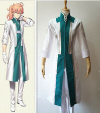 Anime Fate/Grand Order Dr Costume Romani Akiman Cosplay Costume with Gloves