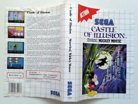 Jaquette CASTLE OF ILLUSION starring MICKEY MOUSE Sega Couverture ORIGINAL