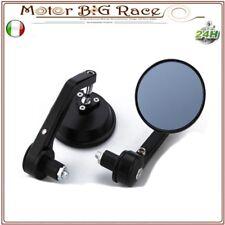 Coppia Universale Moto Manubrio Specchietto Retrovisore Bar End 7/8'' 22mm M86