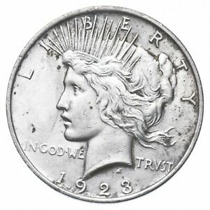 Early - 1928 Peace Silver Dollar - 90% US Coin *576
