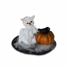 Annalee Dolls 2021 Halloween 3in Ghost with Pumpkin Plush New with Tag