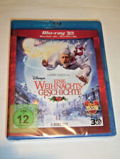 Blu ray - Eine Weihnachtsgeschichte - Disney 2D + 3D Jim Carrey - Neu OVP