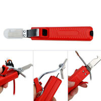 Electrical Insulated Cable Wire Stripper Handheld Cutter Stripping Crimping Tool
