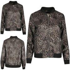 Unbranded Leopard Patternless Coats, Jackets & Waistcoats for Women