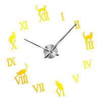 Adesivi per orologio da parete 3D fai-da-te Numeri romani Decorazione per