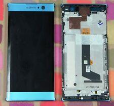 GENUINE BLUE  SONY XPERIA XA2 H3113 H4113 FHD IPS LCD SCREEN DISPLAY FRAME