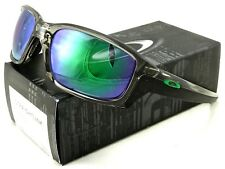 0d8a248fd893d NEW OAKLEY STRAIGHTLINK SUNGLASSES OO9331-03 GREY INK   JADE IRIDIUM LENS