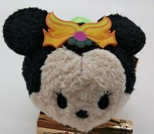 "Disney Halloween 2016 Minnie Mouse TSUM TSUM 3.5"" MINI Plush Doll Japan"