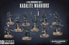 Kabalite Warriors Drukhari Dark Eldar Warhammer 40K NIB Flipside