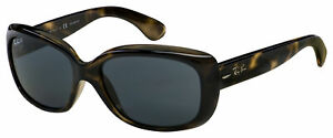 Ray-Ban Jackie Ohh Sunglasses RB 4101 731/81 58 Tort | Grey Gradient Polarized