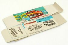 MAXWELL MINI INDIA BOITE VIDE BUS AIRLINES PASSSENGER COACH #532 BOAC ONLY BOX