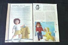 MODES ET TRAVAUX M-Françoise et Michel 1961-1966 Réf 222