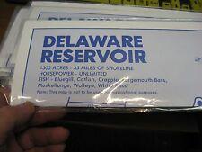 Ohio Topo Fishing & Boating Map Chart Guide / Delaware Reservoir