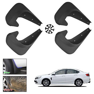 Universal Fit Car Mud Flaps Splash Guards For Front and Rear Tires Set of 4