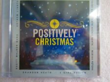 Positively Christmas audio CD produced in 2014