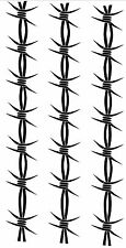 Barbed Wire Armband 2 Temporary Fake Tattoos Waterpoof Body Art Transfer