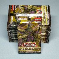 Yugioh 1st Edition Maximum Crisis 24 Booster Packs = Box Quantity Unsearched New