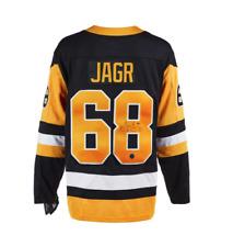 Jaromir Jagr Pittsburgh Penguins Autografiado fanáticos ® NHL Hockey Jersey Replica