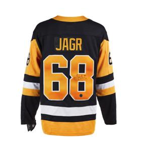 Jaromir Jagr Pittsburgh Penguins Autographed Fanatics® NHL Replica Hockey Jersey