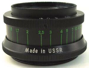 ⭐MINT⭐ 1979!💫 KMZ INDUSTAR 50-2 Russian Soviet Made in USSR💫 Pancake Lens M42