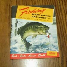 Advertising South Bend IN  Refrigerator Fishing Bait Co Tackle Box Magnet