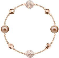 Swarovski 5437890 Remix Medium Rose Gold Plated Bead Bracelet