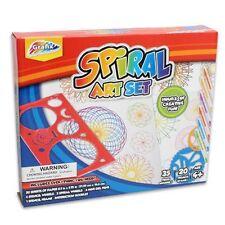 Grafix 38 Stück Spiral-kit Spirograph 3D Formen Kunst & Zeichnung Set Spielzeug