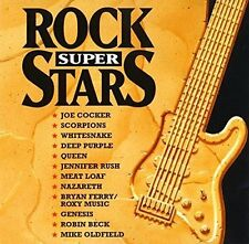 Rock Superstars (1995, Virgin) Joe Cocker, Scorpions, Whitesnake, Meat Lo.. [CD]
