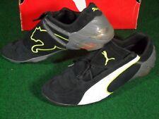 d78620035 EUC Mens Puma V Kat Trainer Suede Indoor Turf Soccer Shoes Black White 10.5