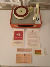 Vintage Portable Record Player- KB Playtime 1962