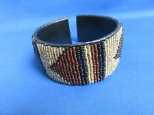 African Ethnic Jewelry Masai New E Maasai Beaded Cuff Bracelet Kenya East